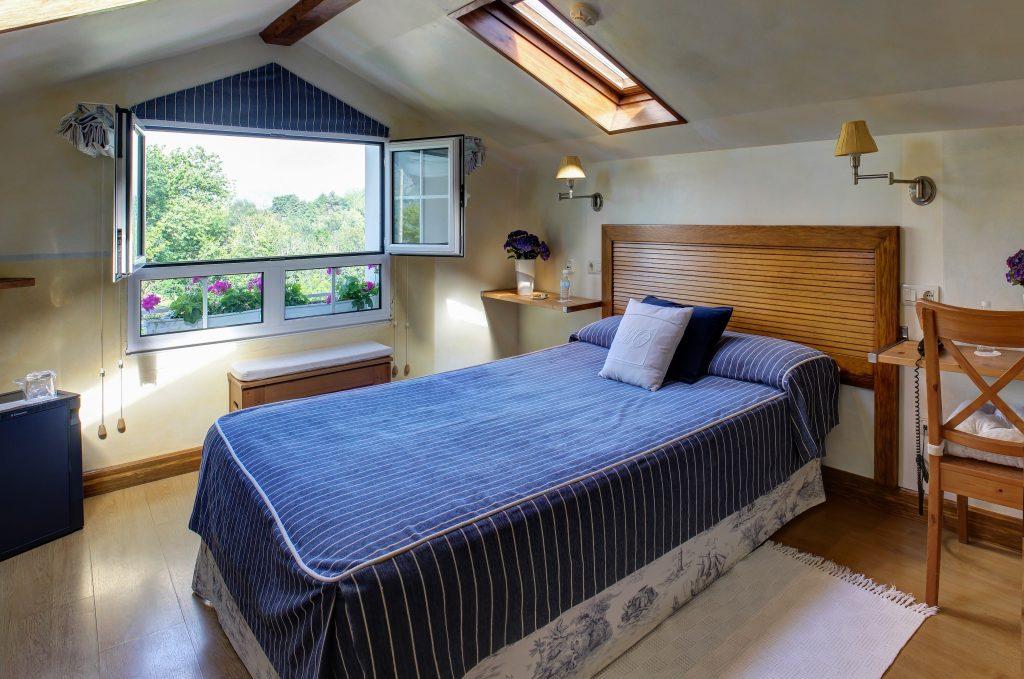 Habitación romántica con servicio de minibar