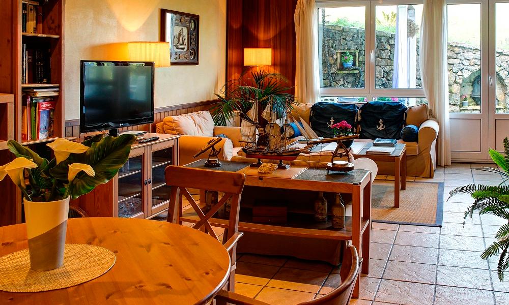 Imagen del salón del hotel