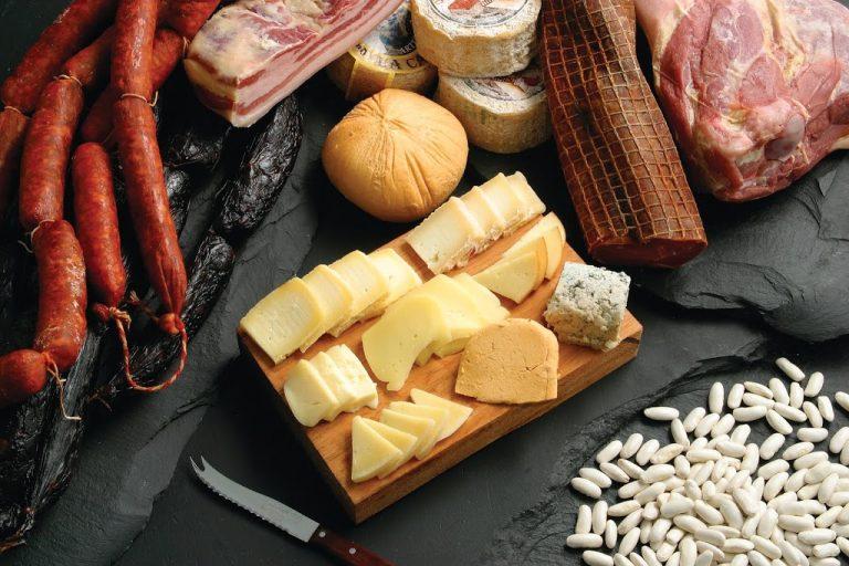 tabla de quesos astuianos